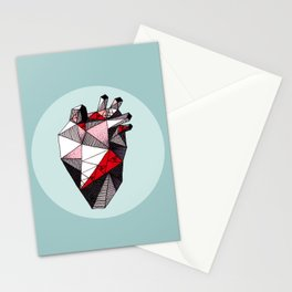 Minty Bubble Heart vol. 2 Stationery Cards