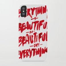 Beautiful iPhone X Slim Case
