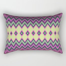 Uzochi Zigzags Rectangular Pillow