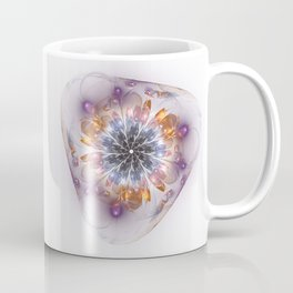 Flower in Glass Coffee Mug