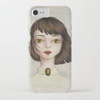 coraline iPhone & iPod Cases featuring Coraline by Gökçenur
