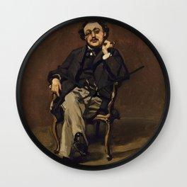 Claude Monet - Dr. Leclenché (1864) Wall Clock