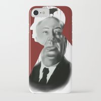 hitchcock iPhone & iPod Cases featuring Hitchcock by FlacoGarcia