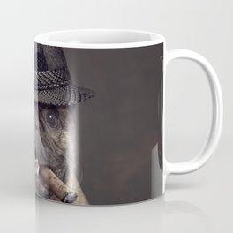 French bulldog with cigar Coffee Mug