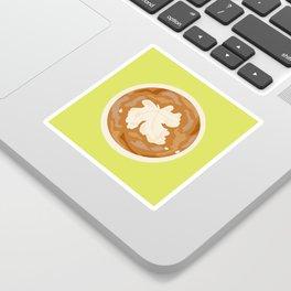 Leaf in my Coffee Sticker