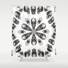 A Death Hex Shower Curtain