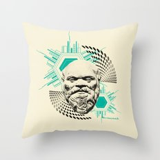 Socrates! Throw Pillow