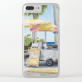 Lonesome Paradise Clear iPhone Case