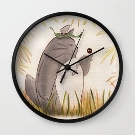 Silent Guardian Wall Clock