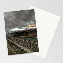 NY Tracks Stationery Cards