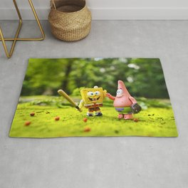 Spongebob & Patrick Rug