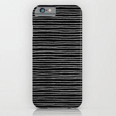 Lines Black iPhone 6s Slim Case