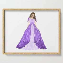 The Purple Dress Serving Tray
