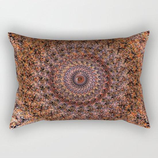 Wheel of Fire Rectangular Pillow