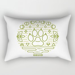 Druid Emblem Rectangular Pillow
