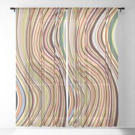 Old Skool Stripes - Flow Sheer Curtain