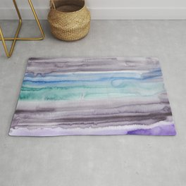 1    190907   Watercolor Abstract Painting Rug