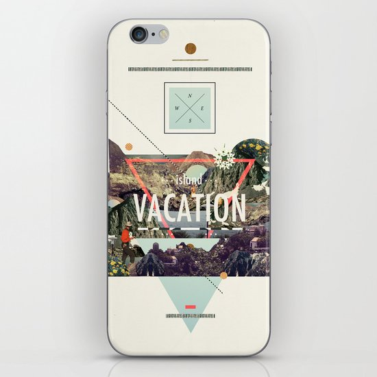 island Vacation iPhone & iPod Skin