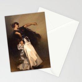 A Spanish Dancer by John Singer Sargent - Vintage Fine Art Oil Painting Stationery Cards