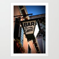 bar Art Prints featuring Bar by Citra Photography