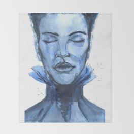 Blues Throw Blanket