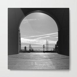 Wharf, Boston Metal Print
