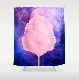 Funfair Floss Shower Curtain