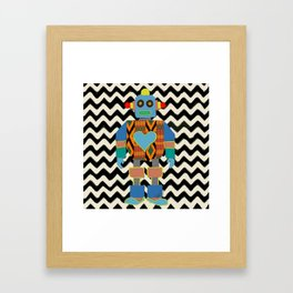 Kente Bot 2 Framed Art Print