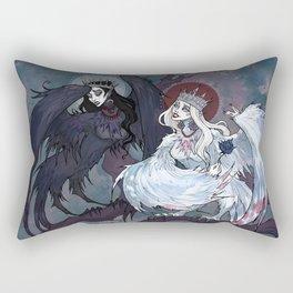 Sirin and Alkonost Rectangular Pillow