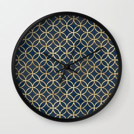 The Geometric Abstract Pattern Wall Clock