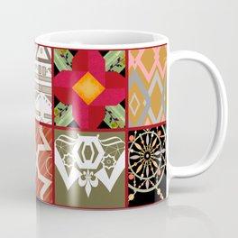 National ethnic patchwork . Coffee Mug