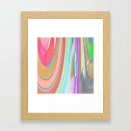 476 - Abstract Colour Design Framed Art Print