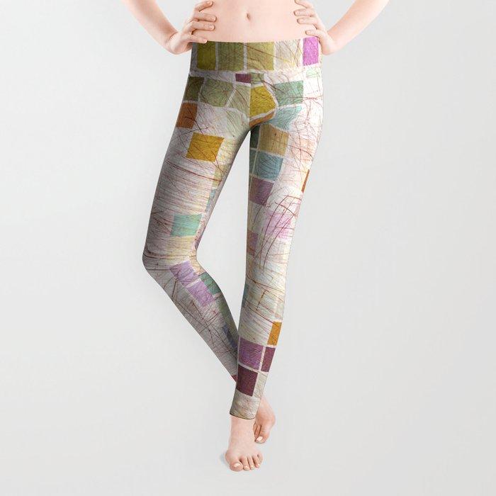 Aztec Vintage Pattern 02 Leggings