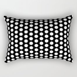 New white black pattern Rectangular Pillow