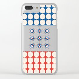 TicTacToe – it's a GAME Clear iPhone Case