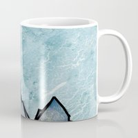 mountain Mugs featuring Mountain by madbiffymorghulis