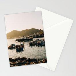 Sunset at Tai O Stationery Cards