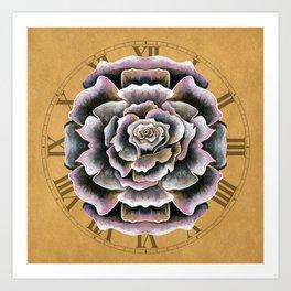 Sweet Pink Rose Art Print