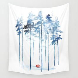 Sleeping in the woods Wall Tapestry