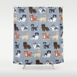CANADIAN DOGS Shower Curtain