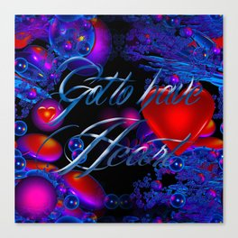"""March Madness """"Heart"""" Canvas Print"""
