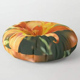 Day Lily Dance Floor Pillow
