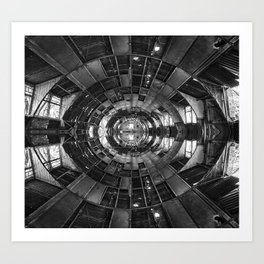 Derelict Airship of Repetition Art Print