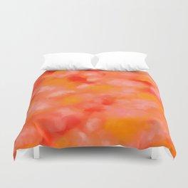 Cherries, Tangerines, and Cream Duvet Cover
