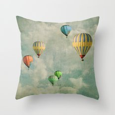 new tales Throw Pillow