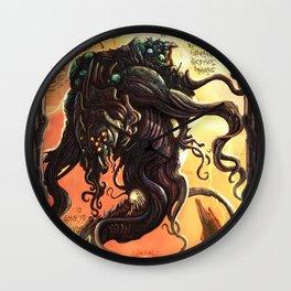 GREAT ANCIENT YOG-SOTHOTH Wall Clock