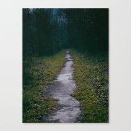 Green Sighs Canvas Print