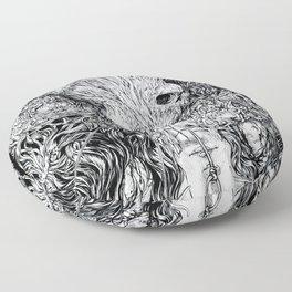 S-ad balloon Floor Pillow