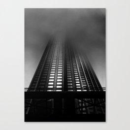 Downtown Toronto Fogfest No 11 Canvas Print