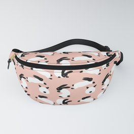 Bunnies on the pink Fanny Pack